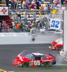 Daytona International Speedway - Final Lap Wreck- By Ted Seminara
