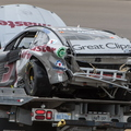 Kahne after wreck